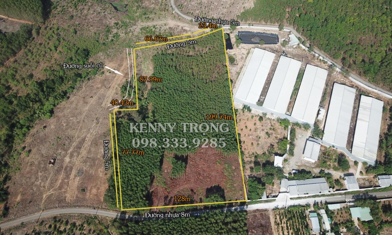 Lô đất 18000m2 mặt tiền đường nhựa 130m nằm ở xã Suối Rao, Huyện Châu Đức, Tỉnh ...