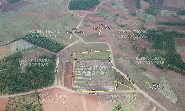 Lô đất đẹp 2 mặt tiền đường 1.8ha Xã Bình Trung, huyện Châu Đức, tỉnh Bà Rịa ...