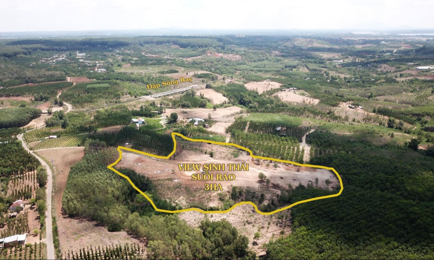 Lô đất sinh thái nghỉ dưỡng 3ha tại xã Suối Rao, huyện Châu Đức, tỉnh Bà Rịa ...