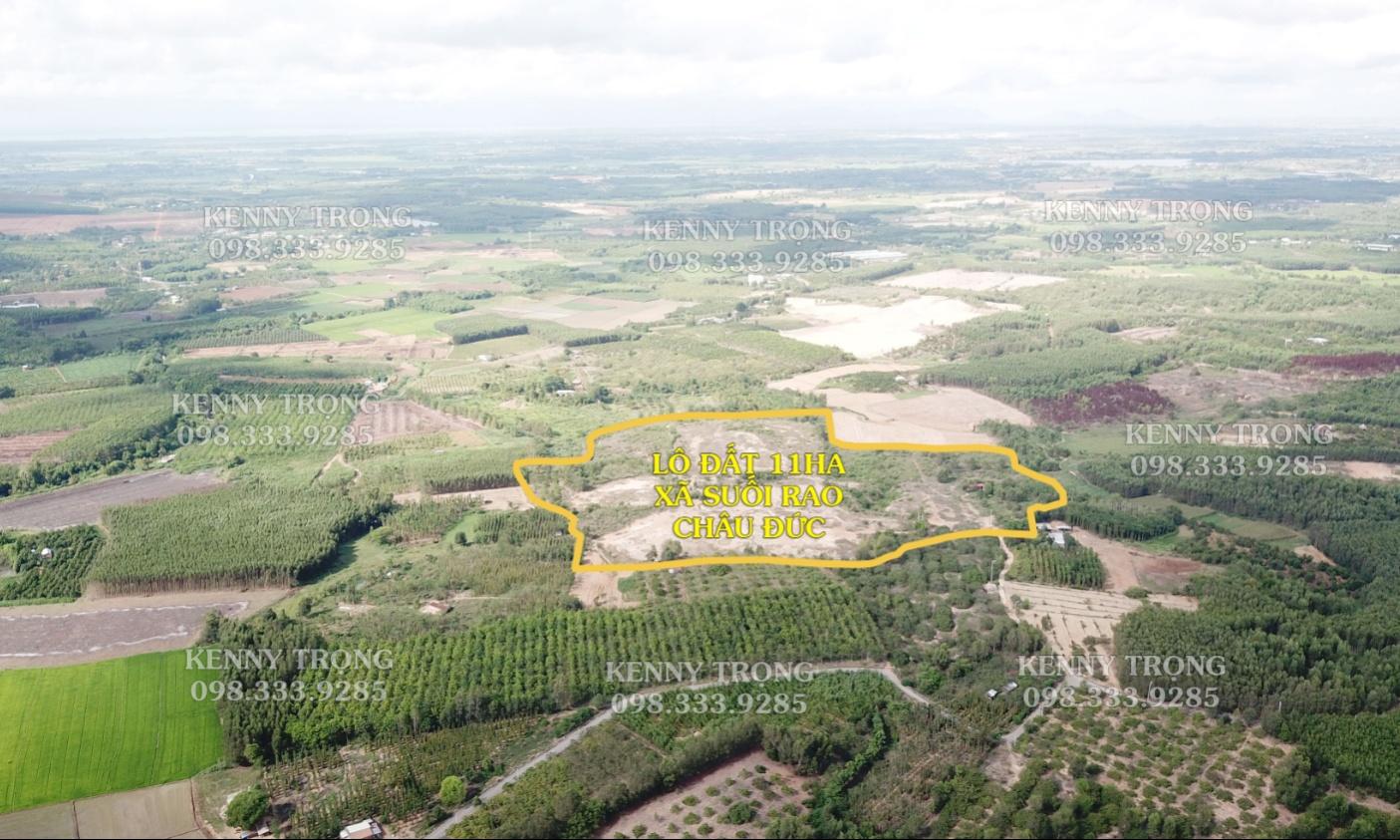 11ha đất Suối Rao, Châu Đức phù hợp với sinh thái nghỉ dưỡng, nông nghiệp sạch, ...