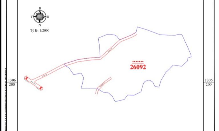 Bán lô đất 26.000m2 mặt đường rộng, tiềm năng phát triển kinh tế dồi dào